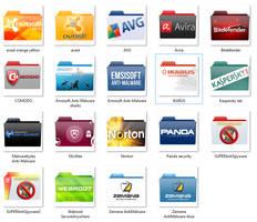 Security Software Folder Icon pack V1.05 by mtbboyvt