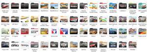 car game folder icon pack 1 v2.04 by mtbboyvt
