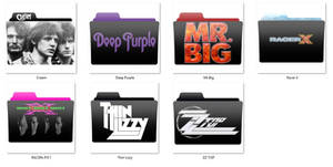 Rock,Blues,blues rock, bands folder icon pack v0.3 by mtbboyvt