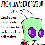 Irken Invader Creator by kluckies