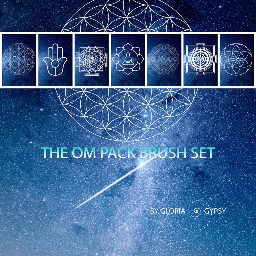 Om Collection Brush Pack