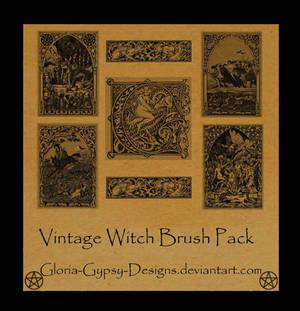 VintageWitch by gloriagypsy-stock