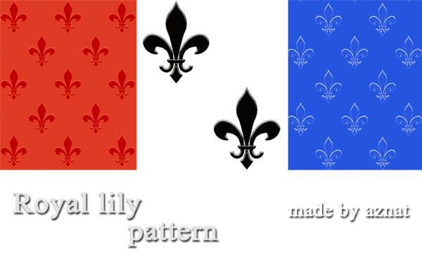 Royal lily pattern by aznat