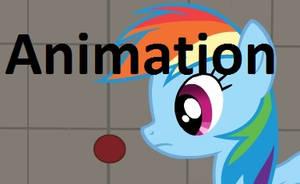 Rainbow Dash breaks the Universe Animation by TiredBrony