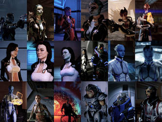 MassEffect2 iPhoneWalls Pack01 by MichaWha