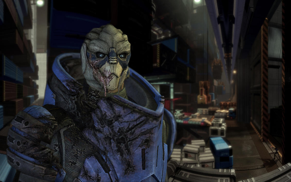 Garrus wallpaper by MichaWha