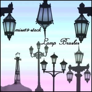 Lamp Post Brushes