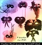 Masquerade Mask brushes