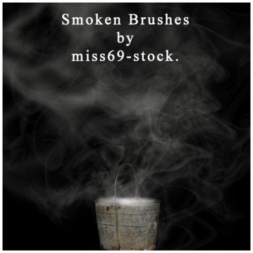 Smoken Brushes.. :D