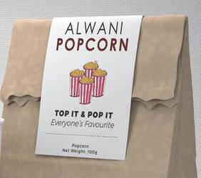 Alwani popcorn by alfadhilakmal