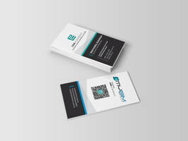 Business Card - Corporate look with QR code by alfadhilakmal