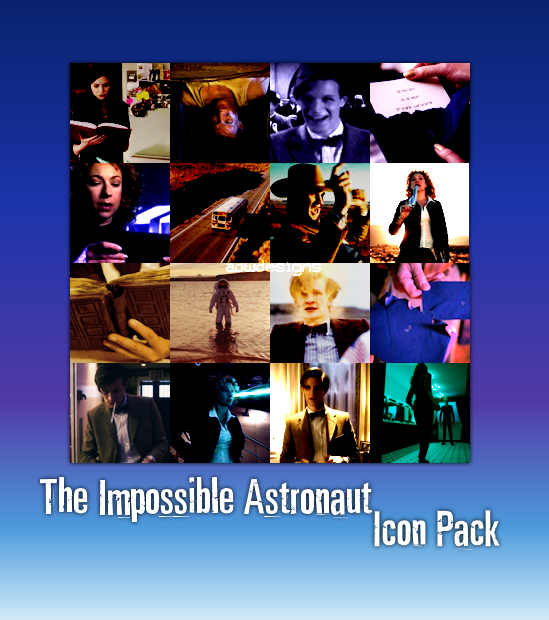 Impossible Astronaut Icon pack by feel-inspired on DeviantArt