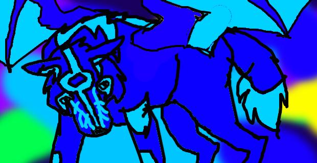 THE BLUE AURORAS by bluedragon03