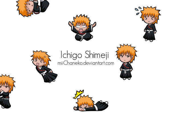 Ichigo Shimeji by miiChaneko