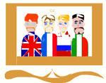 G4 - Britain, France, Russia, Italy by jazzyjaxxdeviant82