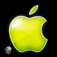 Custom Green Apple Logo by Ant-artistik