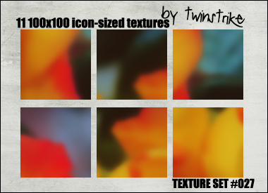 Texture Set 27 by twinstrikeish