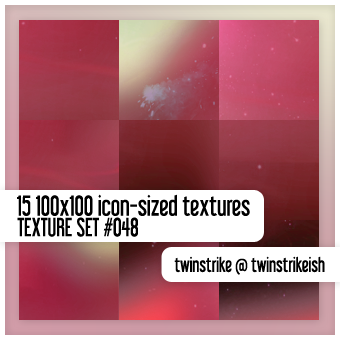 Texture Set 048 by twinstrikeish
