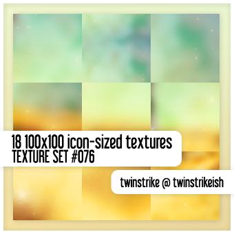 Texture Set 076 by twinstrikeish