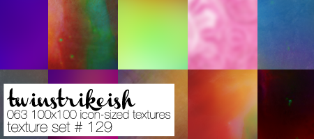 Texture Set 129 by twinstrikeish
