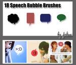 18 Speech Bubble Brushes