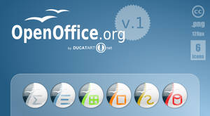 OpenOffice Dock Icons v.1
