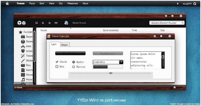 YYS 21.0 Win7 vs port