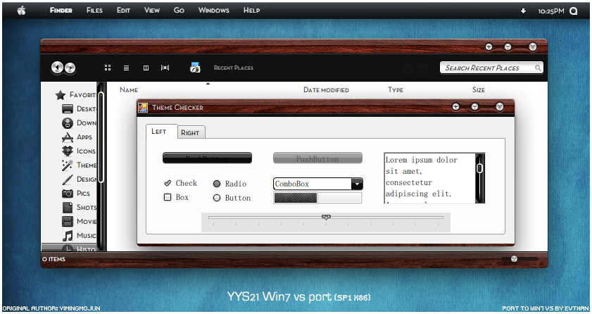 YYS 21.0 Win7 vs port by evthan