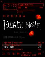 Winamp Skin - Death Note 1