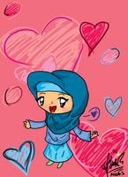 Chibi Hijab Girl by cutefairy09