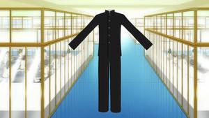 Male High School Uniform DL