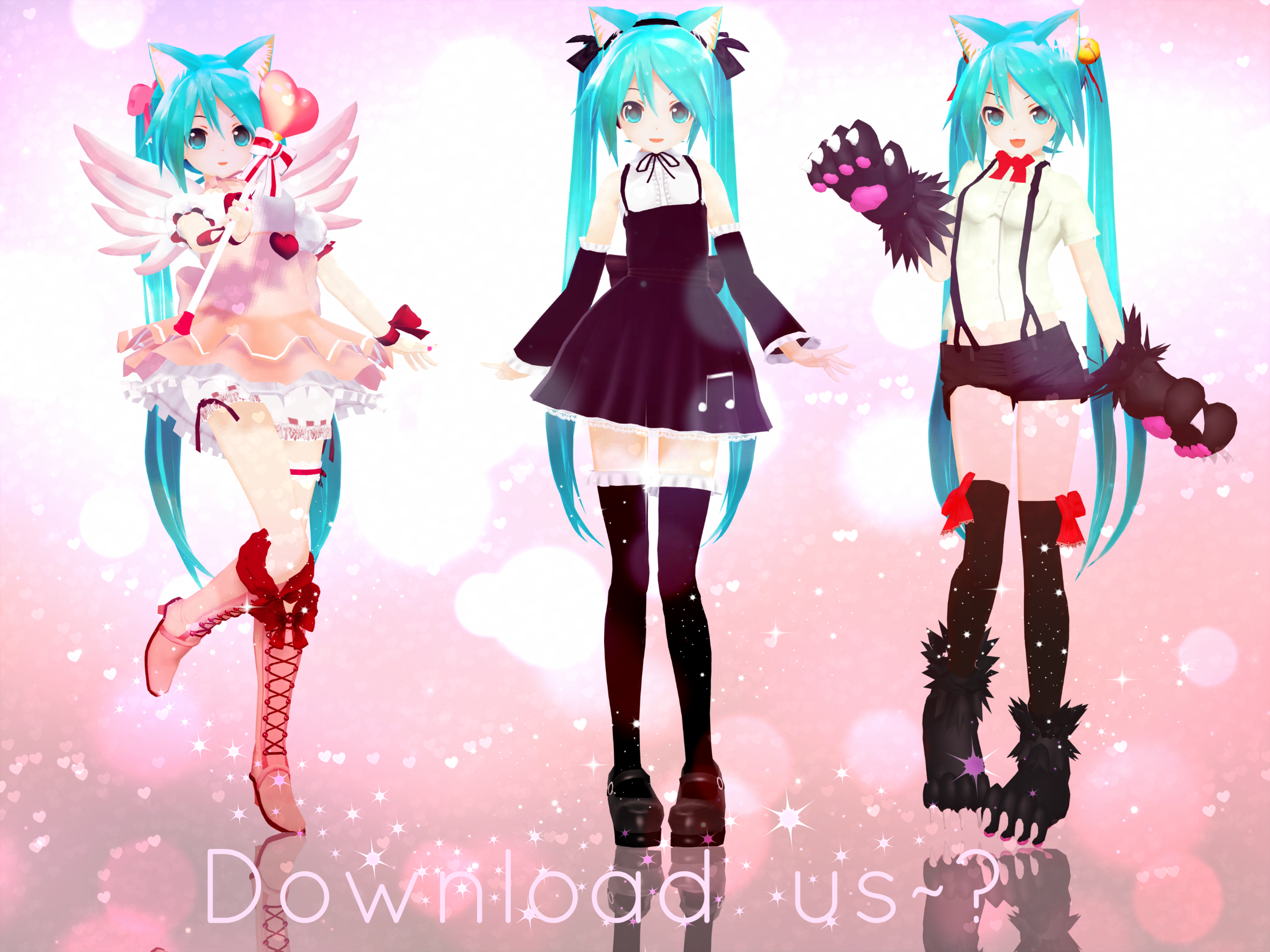 Miku Outfits Gallery