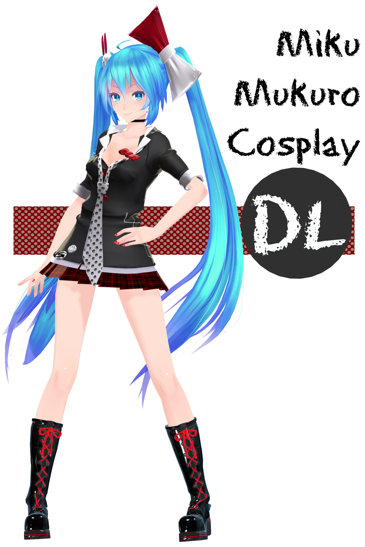 .:Happy Birthday Miku !!:. TDA Mikuro Dl by Crystallyna