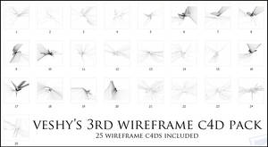 Veshy's 3rd WireFrame Pack