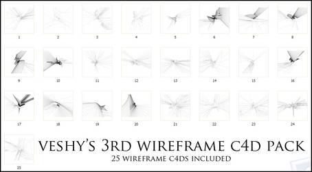 Veshy's 3rd WireFrame Pack by VeshyDesigns07