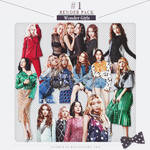 RENDER PACK #1  - Wonder Girls 9P