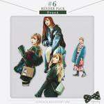RENDER PACK #6 - HyunA 4P