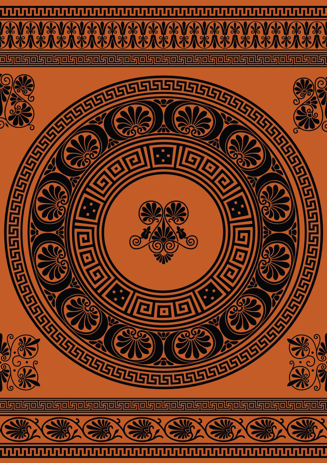 greek ornamental vectors and brushes by nemaakos on deviantart