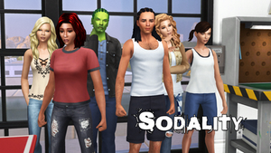 Sodality Adaptation Sims 4 Wallpaper