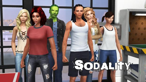 Sodality Adaptation Sims 4 Wallpaper