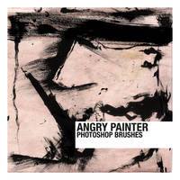 Angry Painter Brushes by thesoulcanwait