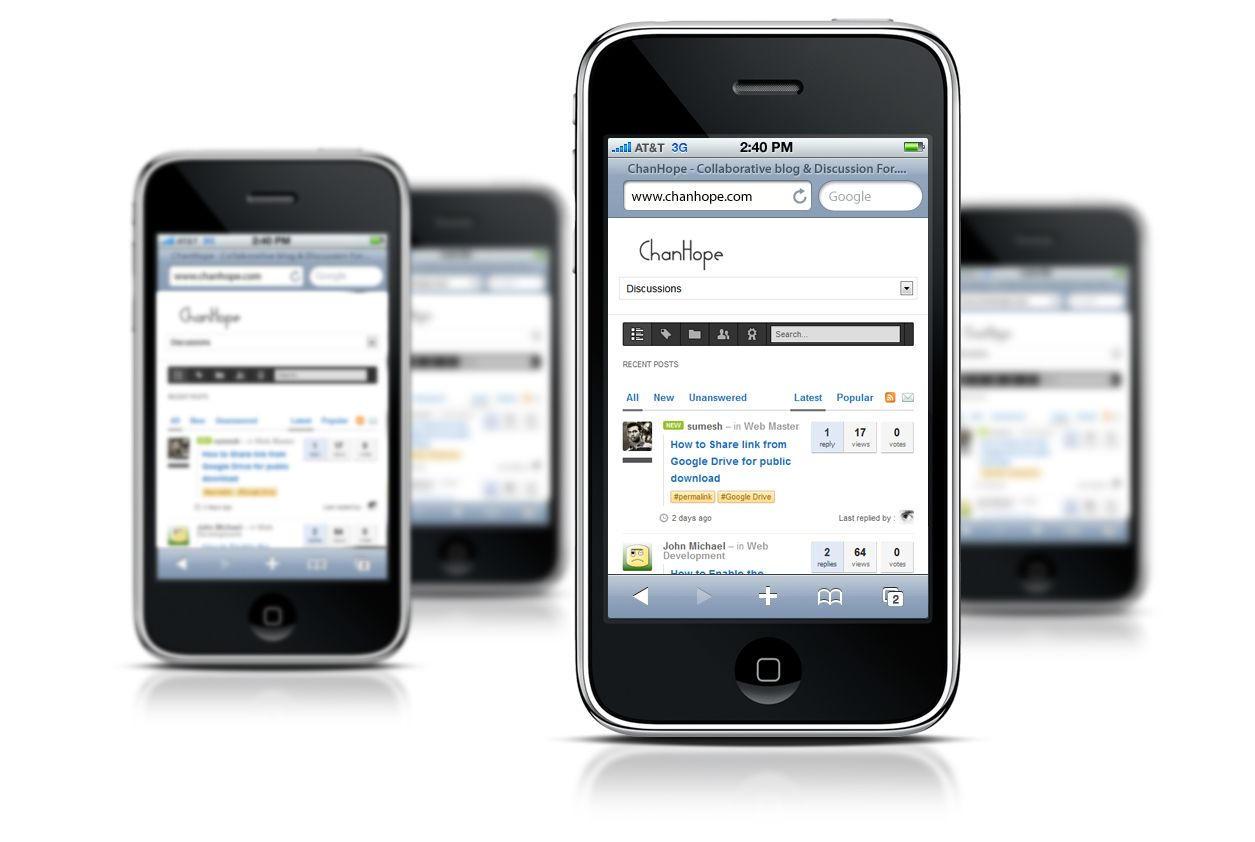 iphone responsive website mockup psd filechanhope on deviantart, Powerpoint templates