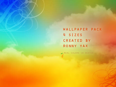 REAL COLORS IN HEAVEN WALLPACK