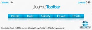 DA Journal CSS Toolbar
