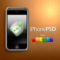 iPhone PSD by jhasson