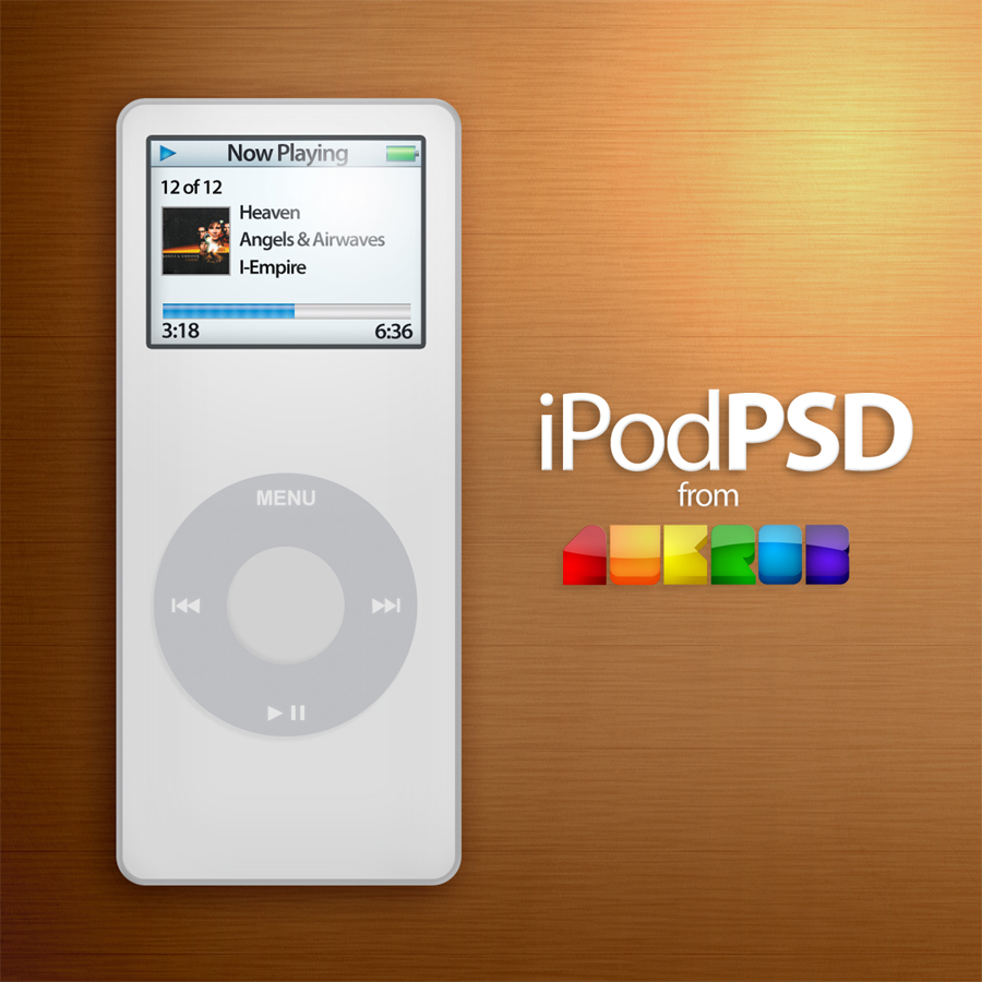 iPod Nano PSD