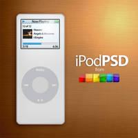 iPod Nano PSD by jhasson
