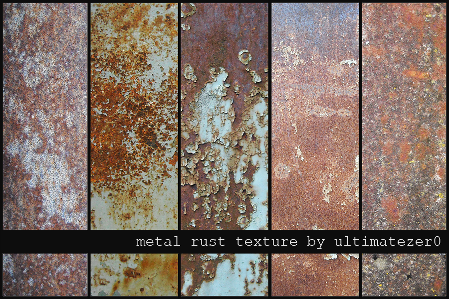 - metal rust textures by nom-nom-pancake