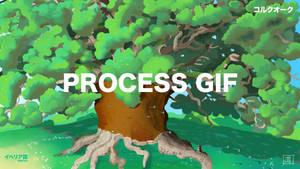 Millenial cork oak _ Process GIF