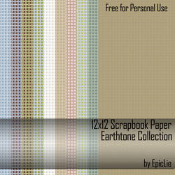 12' Scrapbook Paper_Earthtone1